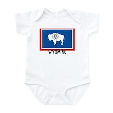 Wyoming Flag Infant Bodysuit