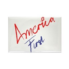 America First Rectangle Magnet (10 pack)