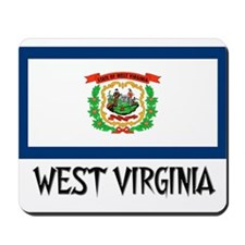 West Virginia Flag Mousepad