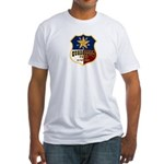 Guadalupe Peak, Texas Fitted T-Shirt