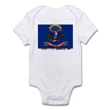 North Dakota Flag Infant Bodysuit