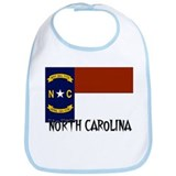 North Carolina Flag Bib