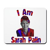 I am Sarah Palin Mousepad