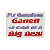 Grandson Garrett - Big Deal Rectangle Magnet