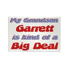Grandson Garrett - Big Deal Rectangle Magnet