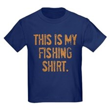 THIS IS MY FISHING SHIRT. T