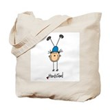 Gymnastics Handstand Tote Bag