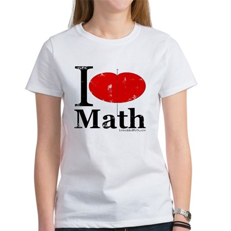 I Love Math Women's T-Shirt