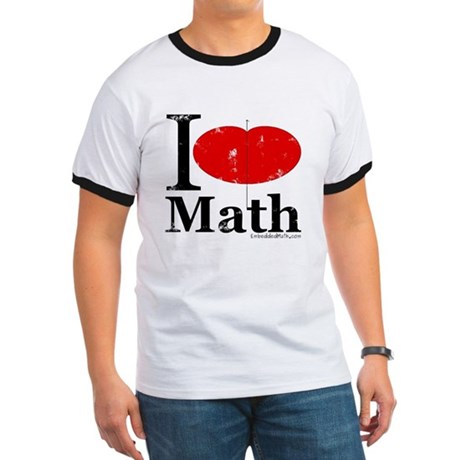 I Love Math Ringer T