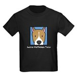 Anime AmStaff Kids Dark TeeShirt (White Text)