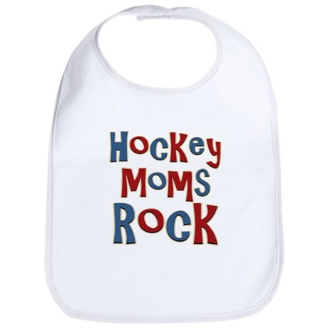 Hockey Moms Rock Palin Bib