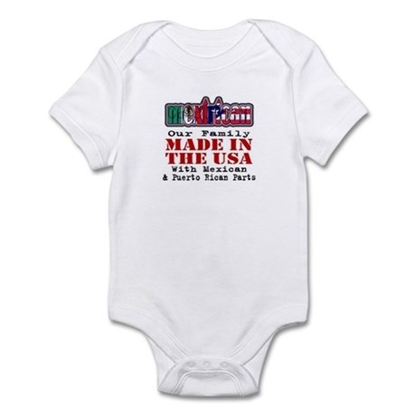 Mexirican Family Body Suit