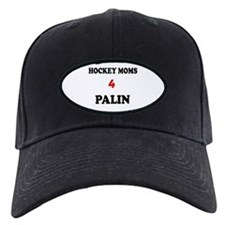 HOCKEY MOMS 4 PALIN Baseball Hat