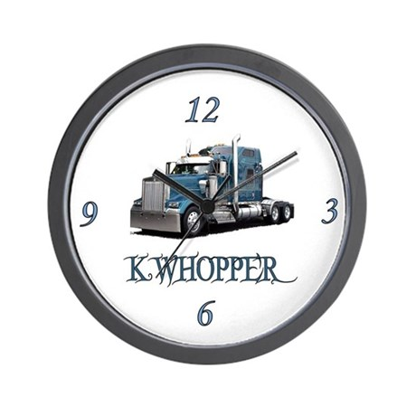 K Whopper Wall Clock