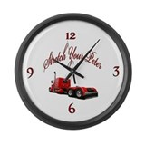 Strectch Your Peter Large Wall Clock