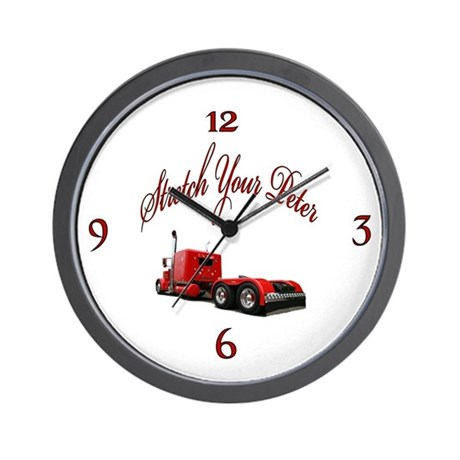 Strectch Your Peter Wall Clock