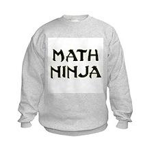 Math Ninja Sweatshirt