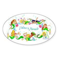 I Believe in Mermaids Decal