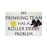 My Drinking Team has a Roller Rectangle Magnet (10