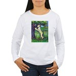 Wheatie Squirrel Chaser Women's Long Sleeve T-Shir