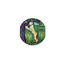 Wheatie Squirrel Chaser Mini Button (10 pack)