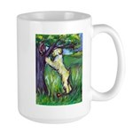 Wheatie Squirrel Chaser Large Mug
