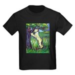 Wheatie Squirrel Chaser Kids Dark T-Shirt