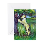 Wheatie Squirrel Chaser Greeting Cards (Pk of 20)