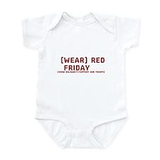 Wear Red Friday Infant Bodysuit