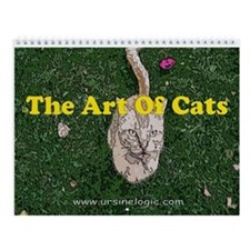 The Art of Cats Wall Calendar