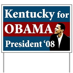 Kentucky for Obama Lawn Sign