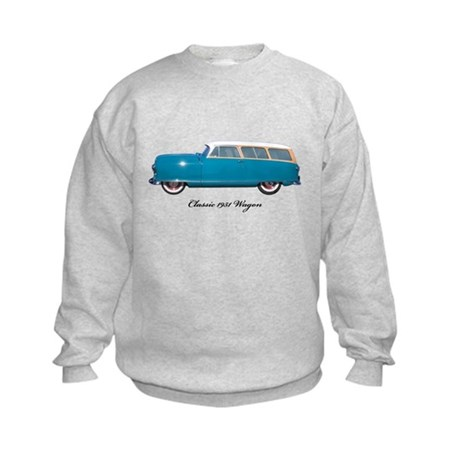1951 Nash Wagon Kids Sweatshirt