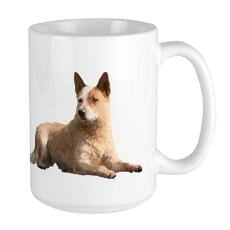Cattle Dog Large Mug