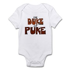 Duke of Puke Red Bodysuit