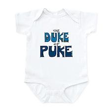 Duke of Puke Blue Bodysuit