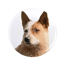 "Cattle Dog 3.5"" Button"