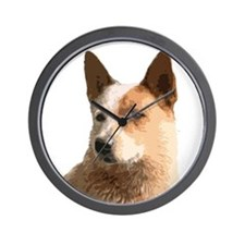 Cattle Dog Wall Clock