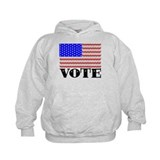 Vote American Flag 2 Hoody