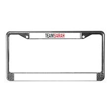 Sarah License Plate Frame