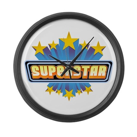 SUPERSTAR Large Wall Clock