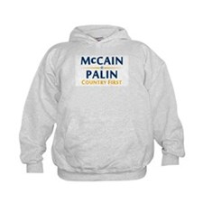 Country First - McCain Palin Hoodie