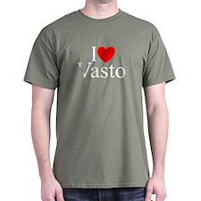 """I Love (Heart) Vasto"" T-Shirt"