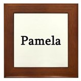 Pamela - Personalized Framed Tile