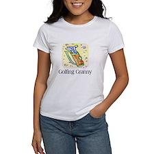 Golfing Granny Tee