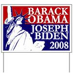 Liberty Obama-Biden 2008 Yard Sign
