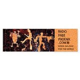 Radio Free Phoenix Bumper Bumper Sticker