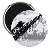 "Sax Graffiti 2.25"" Magnet (10 pack)"