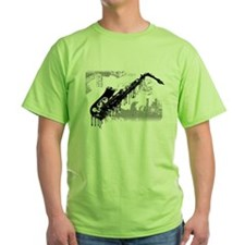 Sax Graffiti T-Shirt