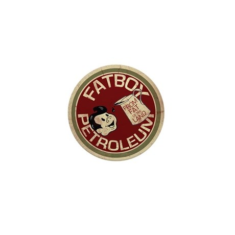 vintage fatboy Mini Button