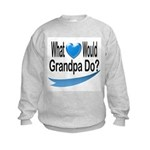 Would Grandpa Do Kids Sweatshirt